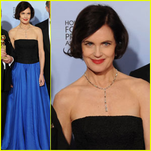 Elizabeth McGovern - Golden Globes 2012 Red Carpet