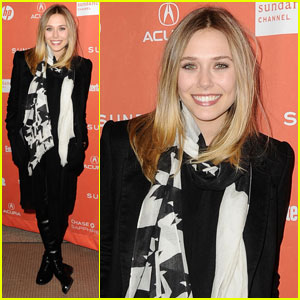Elizabeth Olsen: 'Red Lights' Premiere at Sundance!