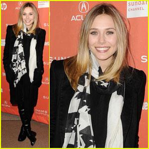Elizabeth Olsen: 'Red Lights' Premiere at Sundance!
