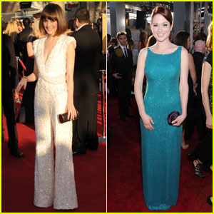 Rose Byrne &#038; Ellie Kemper - SAG Awards 2012 Red Carpet