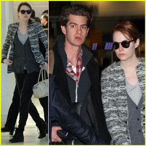 Emma Stone Talks 'Spider-Man' Kiss With Andrew Garfield