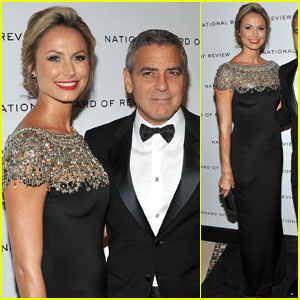 George Clooney &#038; Stacy Keibler: National Board of Review Gala!