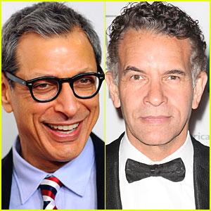 Jeff Goldblum & Brian Stokes Mitchell: Rachel Berry's Dads on 'Glee'!