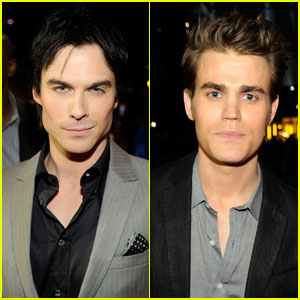 Ian Somerhalder & Paul Wesley - People's Choice Awards 2012 Re