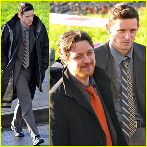 Jamie Bell & James McAvoy: 'Filth' Fellows!