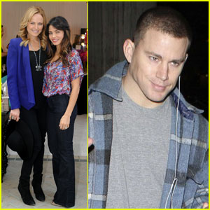 Channing Tatum &#038; Jenna Dewan: LAX Lovebirds