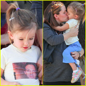 Jennifer Garner: Smooches With Seraphina!