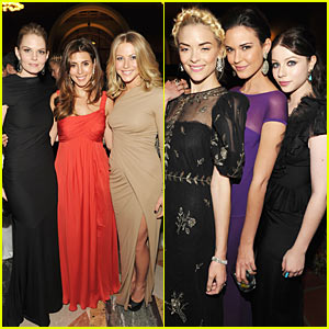 Jennifer Morrison & Jaime King: Art of Elysium Gala!
