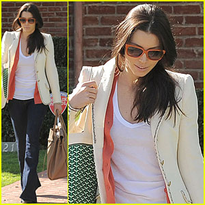 Jessica Biel Visits Acting Coach