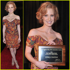 Jessica Chastain: LA Film Critics Association Awards Winner!