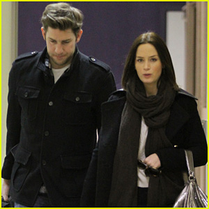 John Krasinski & Emily Blunt: Sundance to LAX!