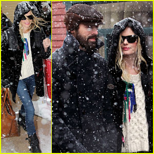 Kate Bosworth &#038; Michael Polish: Snowy Sundance Stroll!