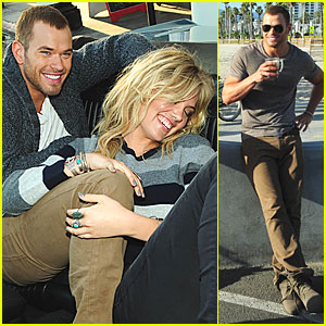 Kellan Lutz: Dylan George Shoot with Kate Upton!