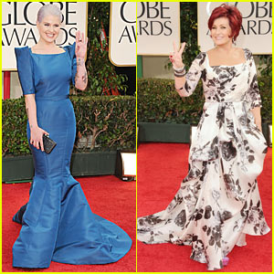 Kelly Osbourne - Golden Globes 2012 Red Carpet