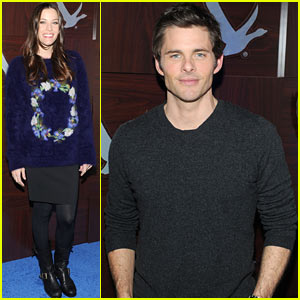 Liv Tyler & James Marsden: 'Robot And Frank' Cast Dinner!