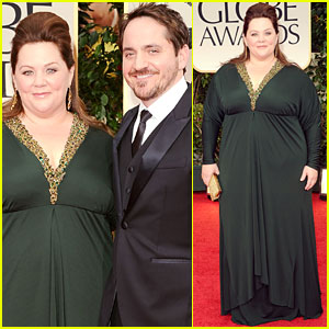 Melissa McCarthy - Golden Globes 2012 Red Carpet