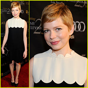 Michelle Williams: BAFTA Tea Party!