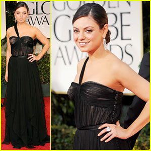 Mila Kunis - Golden Globes 2012 Red Carpet