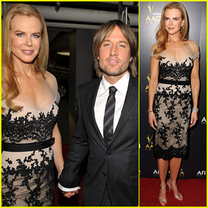 Nicole Kidman & Keith Urban: Australian Awards Pair!