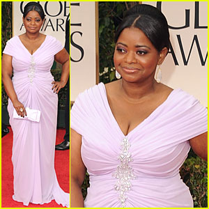 Octavia Spencer - Golden Globes 2012 Red Carpet