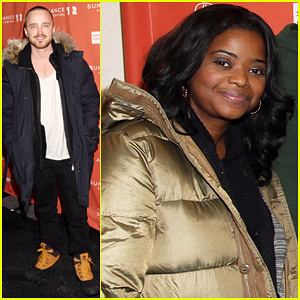 Octavia Spencer & Aaron Paul: 'Smashed' Sundance Premiere!
