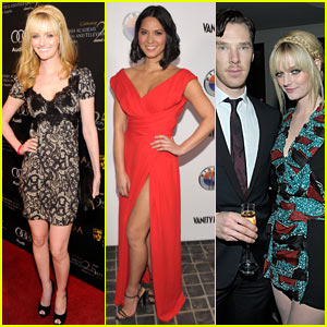 Olivia Munn & Lydia Hearst: Vanity Fair's Golden Globes Party!