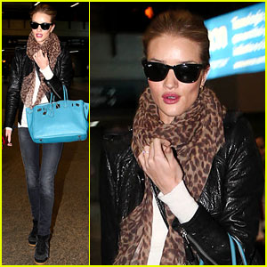 Rosie Huntington-Whiteley: See Ya, Sao Paulo!