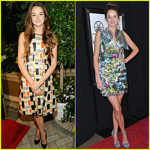 Shailene Woodley: Pre-Golden Globes Events!