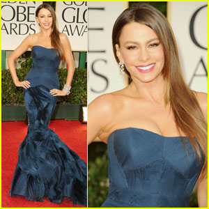 Sofia Vergara - Golden Globes 2012 Red Carpet