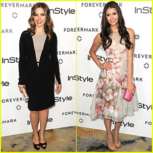 Sophia Bush &#038; Nina Dobrev: Forevermark &#038; InStyle Party!
