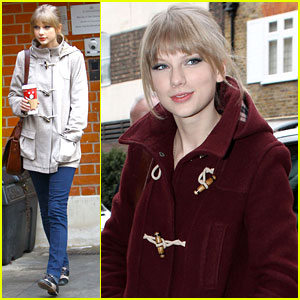 Taylor Swift Visits 'Les Miserables' Producer in London!