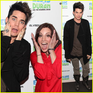 Adam Lambert: Elvis Duran Morning Show!