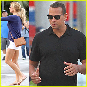 Alex Rodriguez &#038; Torrie Wilson: Miami Mates