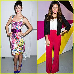Jenna Dewan & Krysten Ritter: Alice + Olivia Presentation!