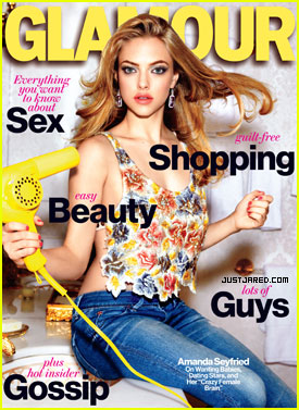 Amanda Seyfried Covers 'Glamour' March 2012