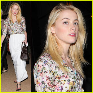 Amber Heard: Antique Shopping!