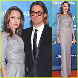 Angelina Jolie & Brad Pitt: Cinema for Peace Gala!