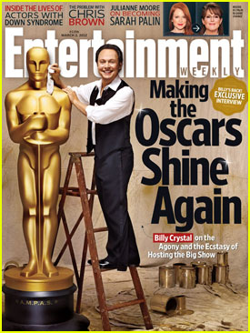 Billy Crystal Covers EW's 2012 Oscars Issue