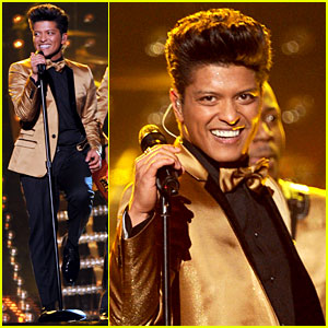 Bruno Mars' Grammys Performance - Watch Now!