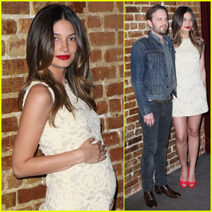Caleb Followill & Lily Aldridge: 'Eastbound & Down' Premiere!