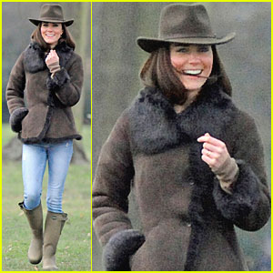 Duchess Kate & Lupo Go for a Walk
