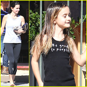 Courteney Cox & Coco: Ba