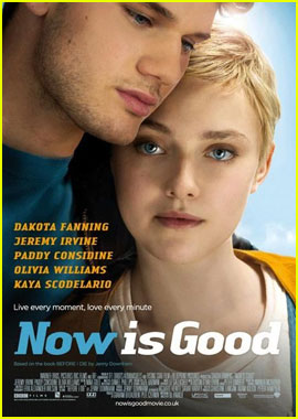 Dakota Fanning: 'Now Is Good' Poster With Jeremy Irvine!