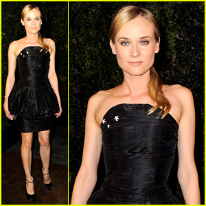 Diane Kruger: Chanel Pre-Oscar Dinner Party!