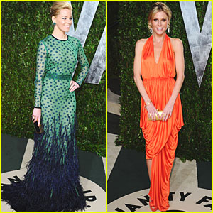 Elizabeth Banks & Julie Bowen - Vanity Fair Oscar Party
