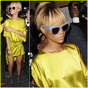 Rihanna: Brit Awards Mahiki After Party
