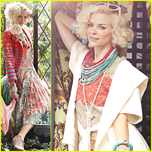 Jaime King: 'O' Fashion Spread!