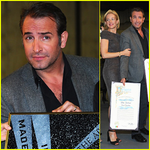 Jean dujardin the artist l a city council ceremony for Jean dujardin instagram