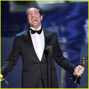 Jean dujardin wins oscars best actor 2012 oscars jean for Jean dujardin instagram