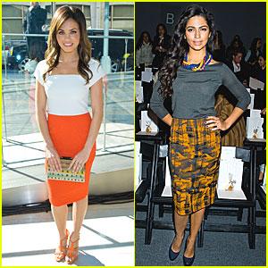 Jenna Dewan & Camila Alves: New York Fashion Week!